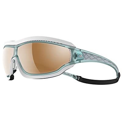Adidas lunettes A197 Tycane Pro Outdoor Small Aqua Mat 6124