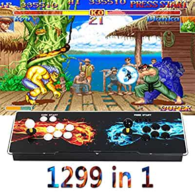Amazon com: Focussexy 1299 in 1 Arcade Games Console 2 Players