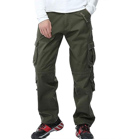 Amazon.com: LANBAOSI - Pantalones tácticos de combate para ...