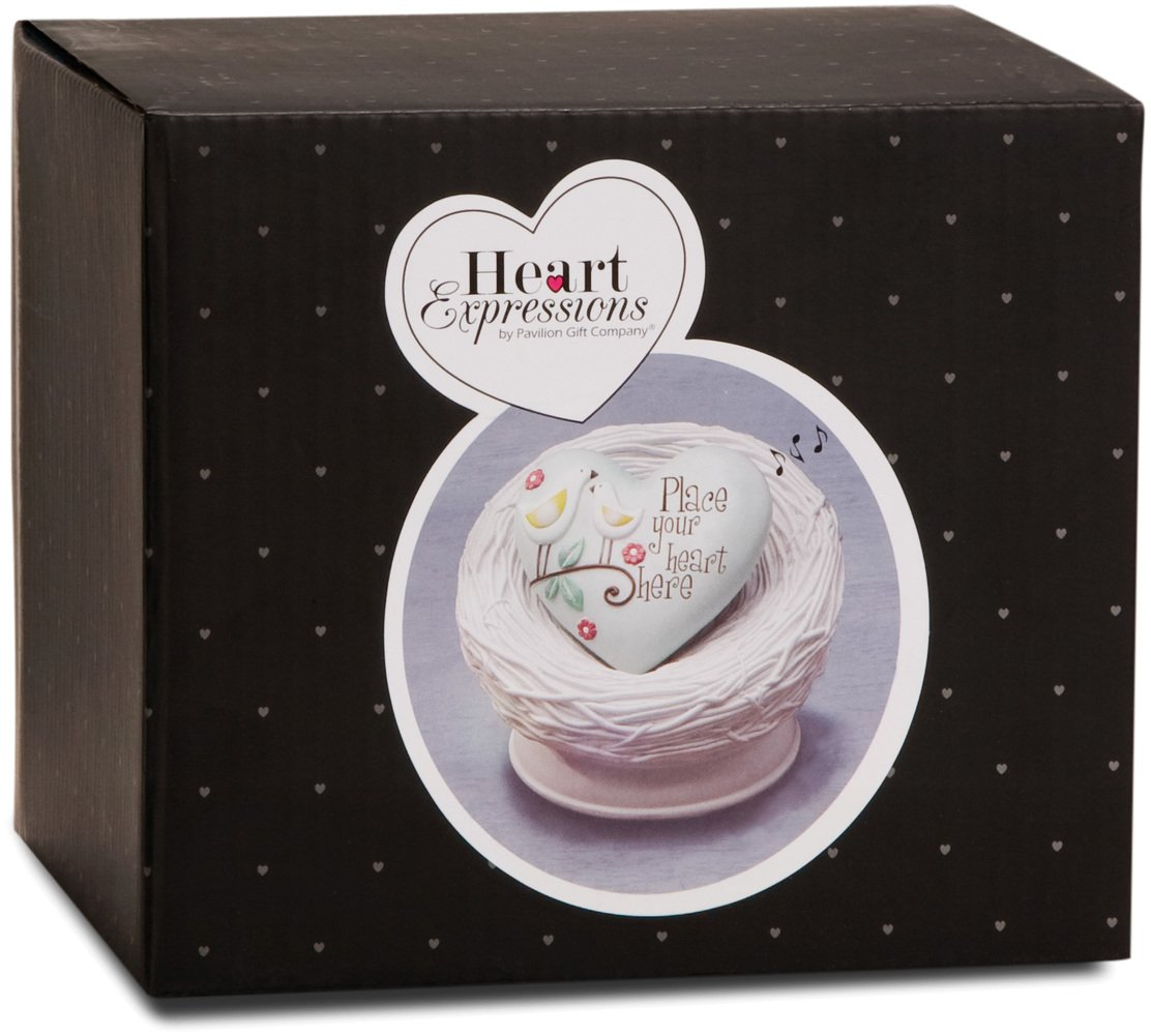 Heart Expressions by Pavilion Inspirational Heart Courage Sentiment 2-1//2-Inch