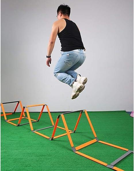 Xin Escalera for Agilidad 5m Velocidad Escalera Fútbol Flexibilidad Kit de Entrenamiento de Salto de Escalera for Adultos de los niños: Amazon.es: Deportes y aire libre