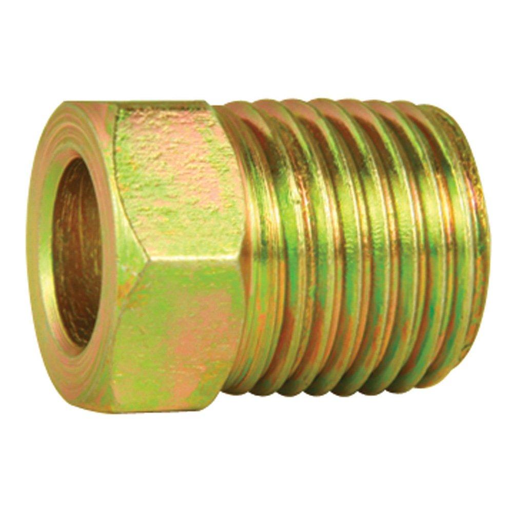 Steel Tube Nuts - 1/4' Line - SAE 7/16' X 24 thread - Inverted Flare - Pack of 10 4LifetimeLinesTM