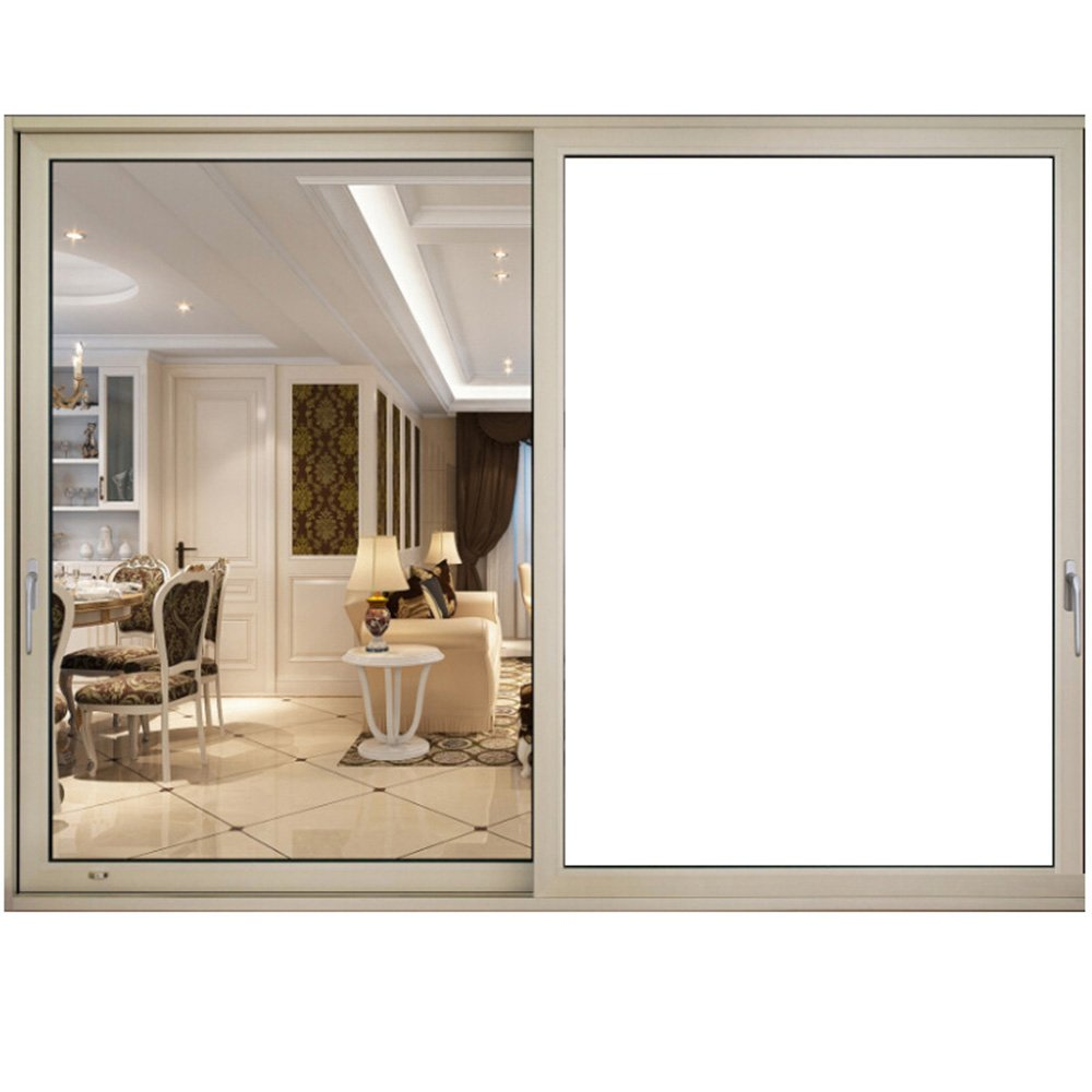 HOHO VLT 0% Opaque White Privacy Glass Window Film Door Tint for Home Office Stickers 19.6''x98ft