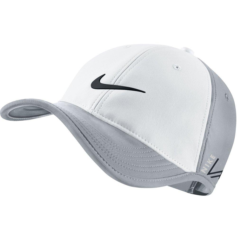 Nike New Ultralight Tour RZN Vapor Adjustable White Wolf Gray Black Hat Cap   Amazon.in  Clothing   Accessories 2c7b38c2c3f6