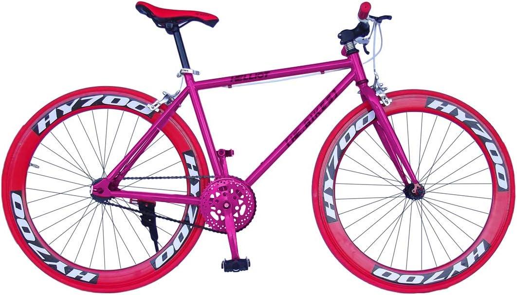Helliot Bikes Soho 03 Bicicleta Fixie Urbana, Unisex Adulto, Negra ...