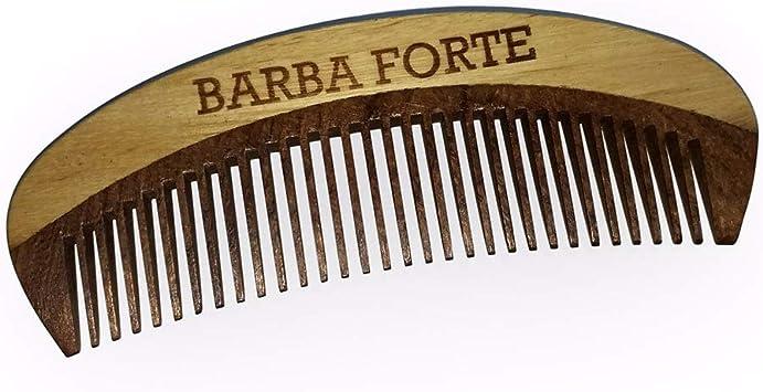 Barba Forte Pente em Madeira 12cm