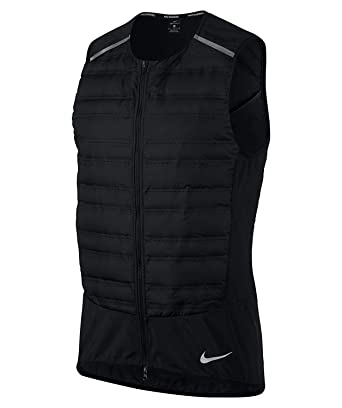 3455a0e00 Amazon.com: NIKE Aeroloft Men's Running Vest: Nike: Clothing