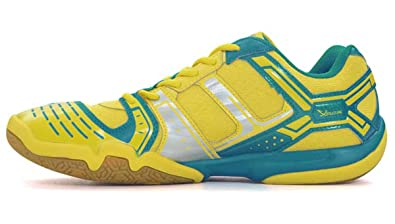 LI-NING Men Saga Lightweight Anti-Slippery Badminton Shoes Breathable  Professional Sport Shoes Yellow e0648eece