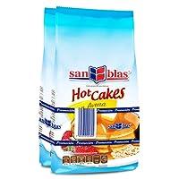 San Blas Harina Preparada para Hot Cakes con Avena, 2 Kg, 2 Packs