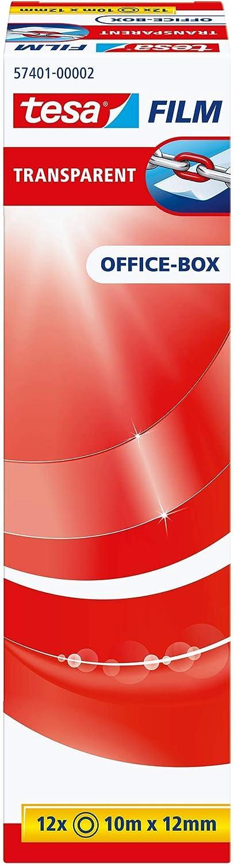 transp : 66 m x 25 mm Bandgröße 6 St. L x B Tesa® Klebefilm Office Box