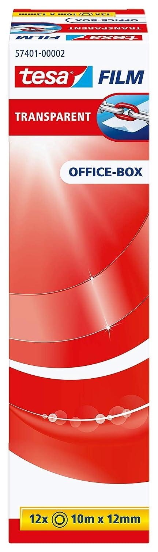 Klebefilm 12RL 12mm 10m transp 57401-00002-03 Office Box TESA 4042448035837