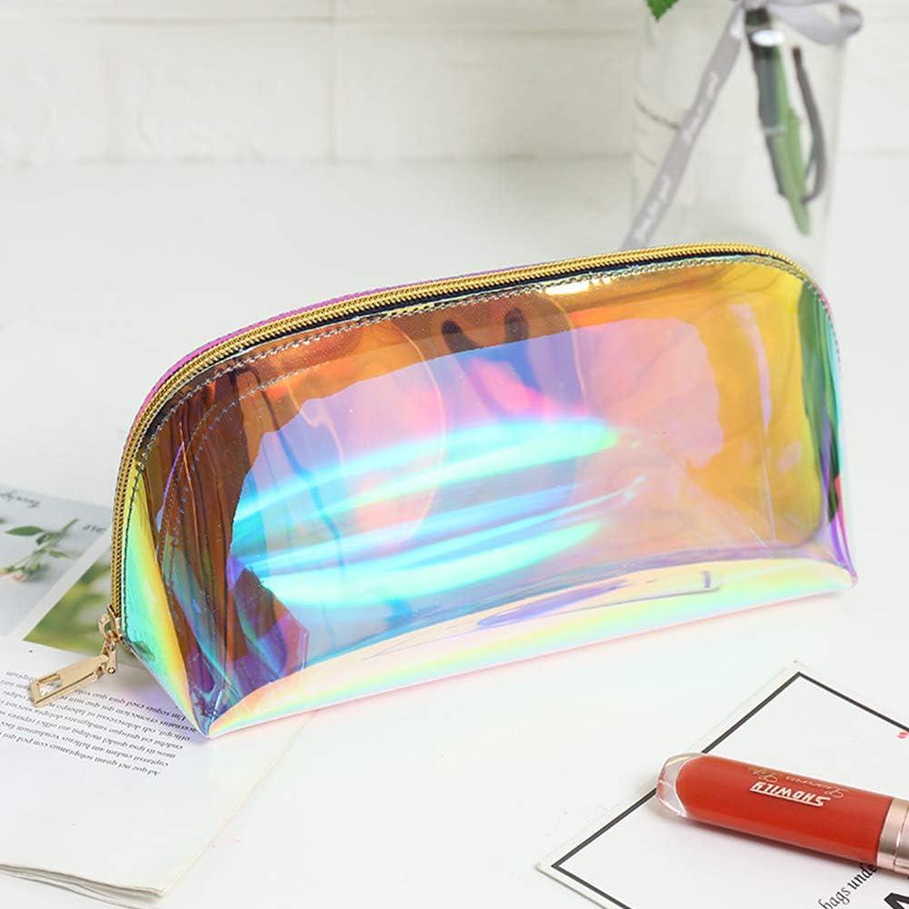 Trousse de Maquillage S/érie No/ël Sac Cosm/étique en Polyester de Grande Capacit/é Trousse de Toilette D/élicate Imprim/ée en 3D As Shown 1 Drawihi