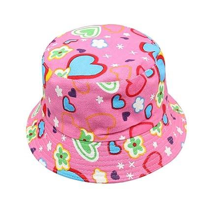 Sombreros bebe Verano, ❤️Amlaiworld Bebé Niños niñas Sombreros Florales Sol Casco Casquillo Gorras Sombrero