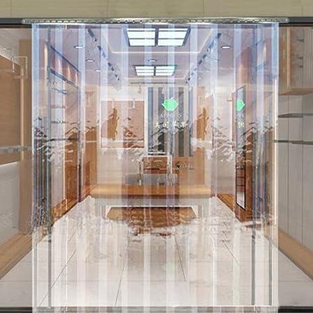 Keinode - Juego de cortinas y tiras verticales de PVC transparente para congelador, frigorífico, refrigerador, 1 m (ancho) x 2 m (profundidad) - 200 mm x 2 mm, 1 m x 2 m: Amazon.es: Hogar
