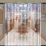 PVC Strip Curtain Door Strips 1 Meter x 2 Meter Freezer Room Warehouse