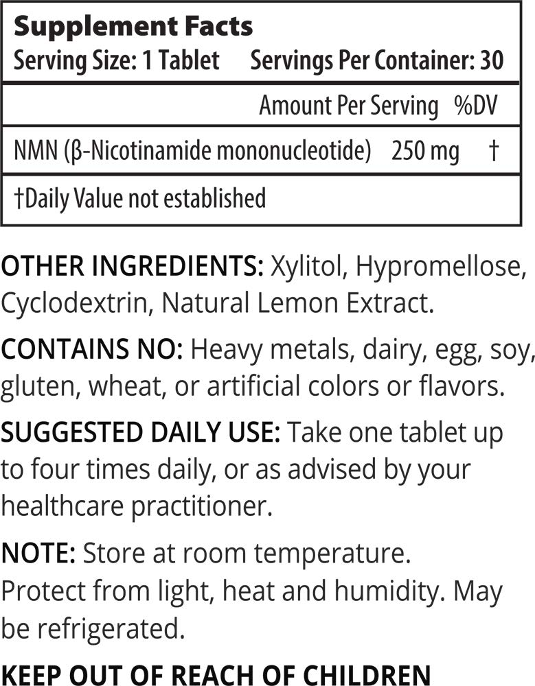 ProHealth 3-Pack NMN Pro 250 Extended Release (250 mg nicotinamide mononucleotide, 30 Tablets per Bottle) NAD+ Precursor | Supports Anti-Aging, Longevity and Energy | Non-GMO … by ProHealth (Image #1)