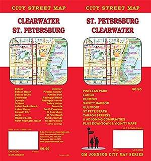 Map St Petersburg Florida.Tampa Florida Street Map Gm Johnson 9781770685987 Amazon Com Books