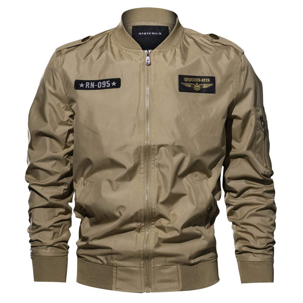 Amazon.com: Clearance Sale for Men Coat.AIMTOPPY Mens Casual Long-Sleeved Jacket Military Uniform Large Size Jacket: Computers & Accessories