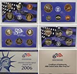 2006 S Proof set Collection Uncirculated US Mint