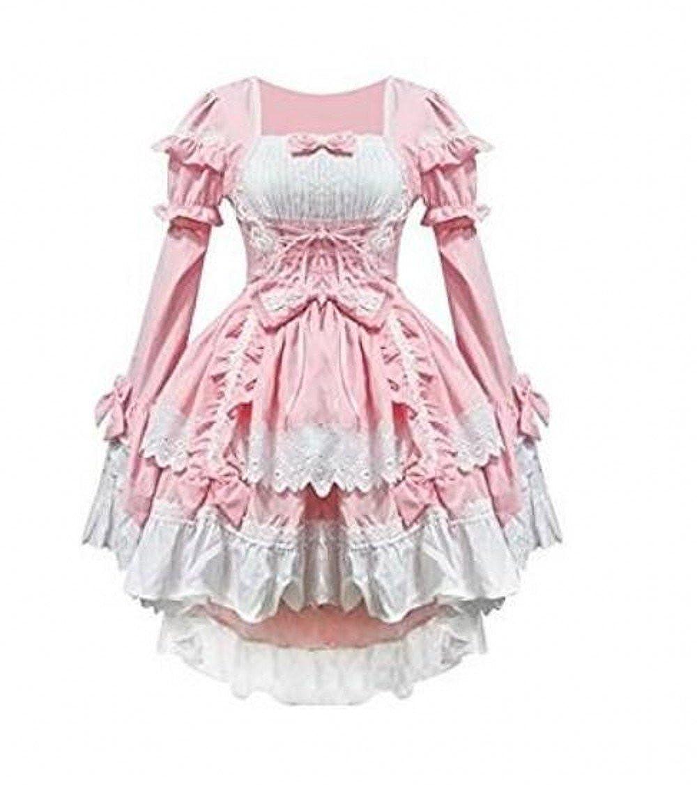 Black Sleeveless Cotton Bow Lolita Christmas Fancy Dress Cosplay Party Costume