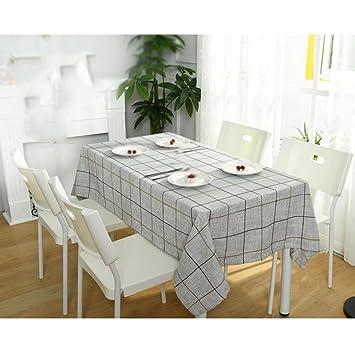 S&H Tabla sencilla Casa Moderna cinta de tela parrilla mesa ...