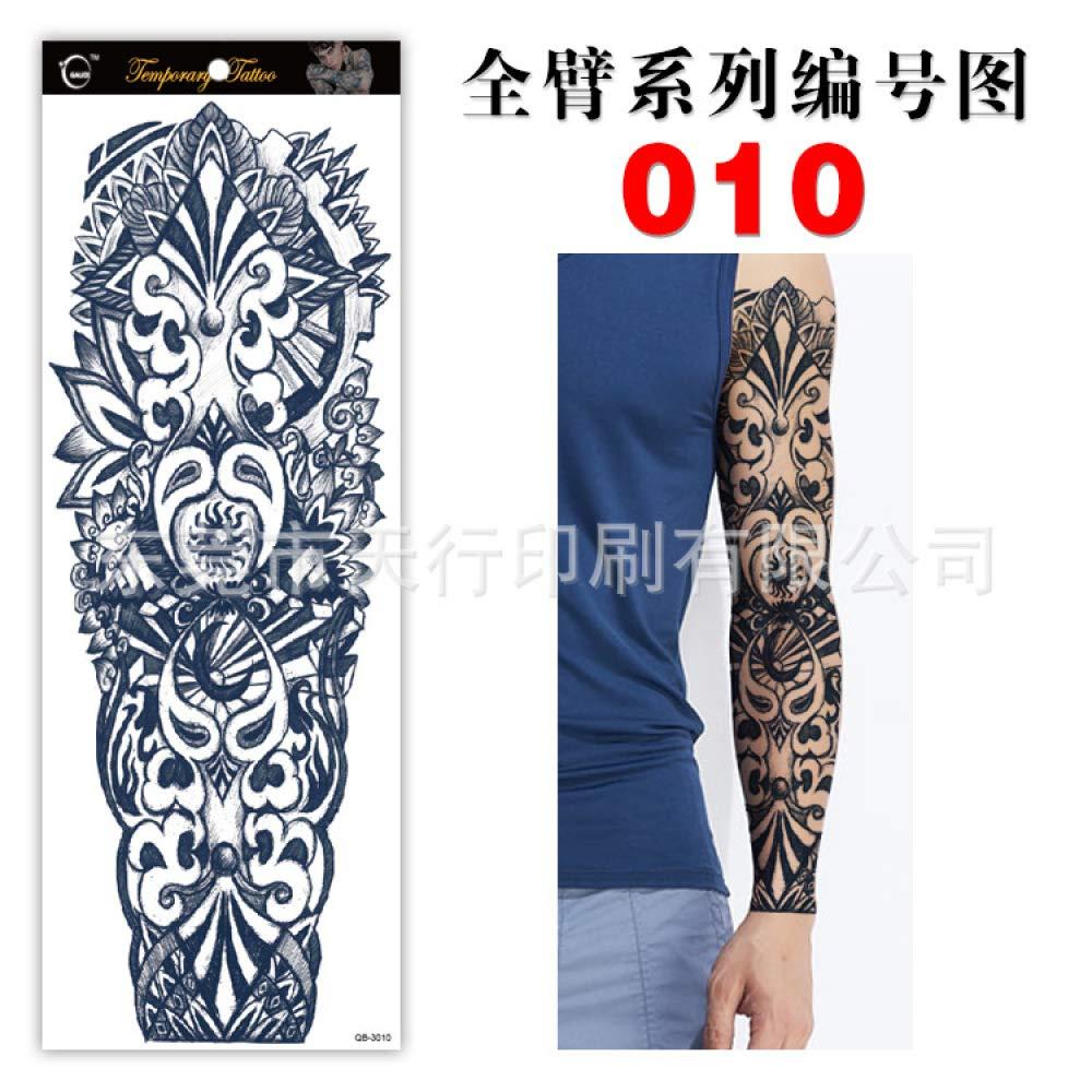 Handaxian Pegatinas para Tatuajes con Brazo Impermeable y ...