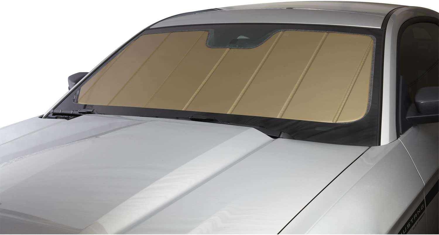 Laminate Material Covercraft UV11348GD Gold UVS 100 Custom Fit Sunscreen for Select Cadillac//Chevrolet//GMC Models 1 Pack