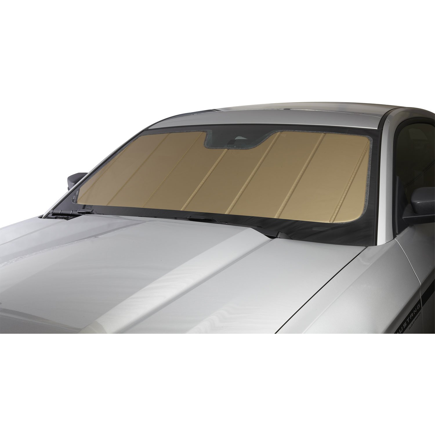 Covercraft UV11097GD Gold UVS 100 Custom Fit Sunscreen for Select Lexus RX350/RX450h Models - Laminate Material, 1 Pack by Covercraft (Image #1)