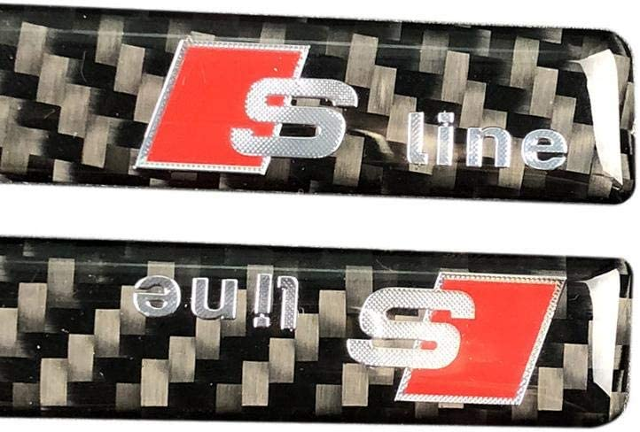 for Audi A6L A4L Q5 A3 Q3 Calm Foil Carbon Fiber Car Rearview Mirror Sticker WXGY Outside Mirror Rearview Mirror Sticker Set