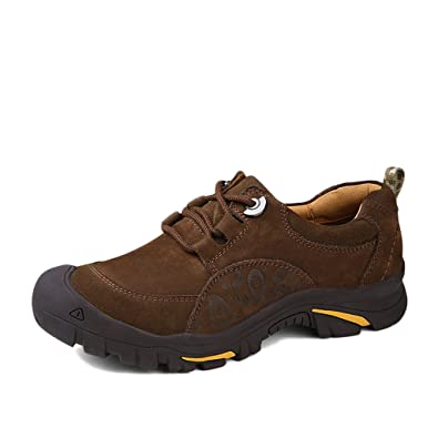 Men's Suede Leather Waterproof Hiking Trekking Shoes Loafers