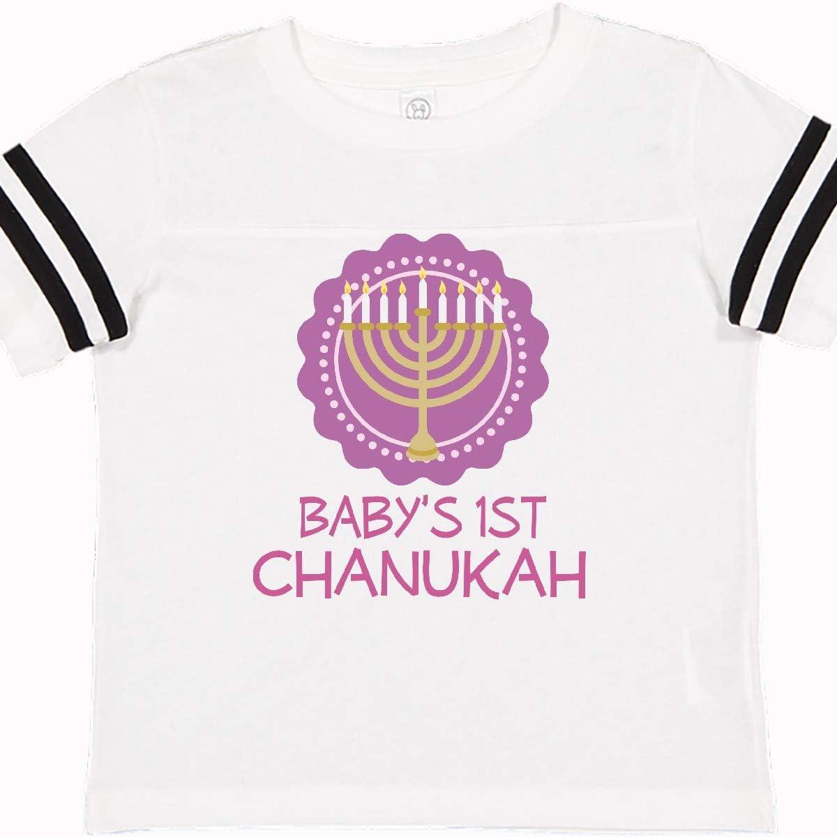 inktastic Babys 1st Chanukah Toddler T-Shirt