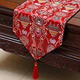 Chinese%2Dstyle garden table runner%2F t