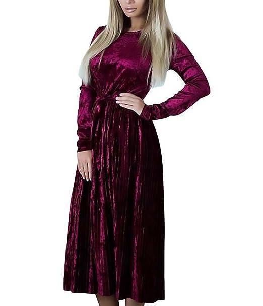 info for 16548 25be1 Abiti da Cerimonia Donna Lunghi Vestito Eleganti Vintage ...