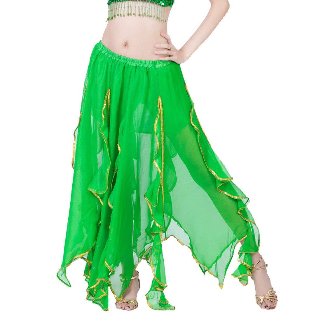 Calcifer Lotus - Falda de Danza para el Vientre, diseño de Hojas ...