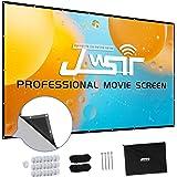 Projector Screen 150 inch, Premium 3 Layers PVC 150 inch 16:9 HD Portable Projector Screen, Premium Indoor Outdoor Movie Scre