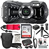 Ricoh WG-50 Waterproof/Shockproof Point and Shoot Digital Camera (Black)...