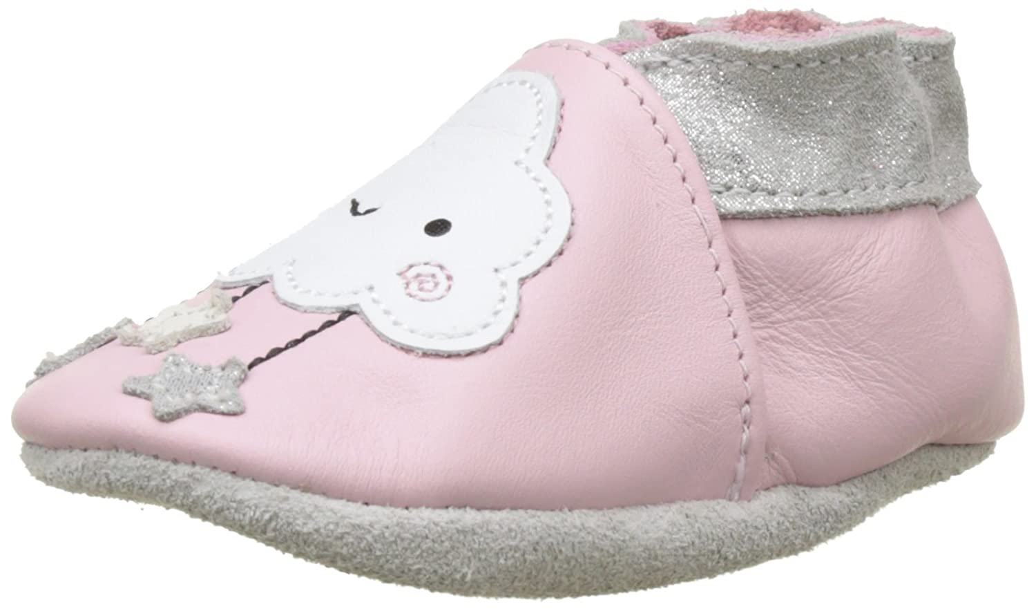 c6848065c13a7 Robeez Baby Girls  Miss Cloud Baby Shoes Pink Size  12-18 moisUK ...