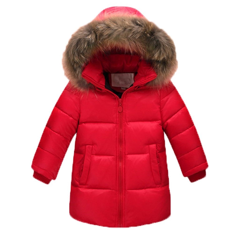 OPSUN Unisexe Enfant Garçon Fille Veste d'hiver Manteau Doudoune Pardessus 140cm