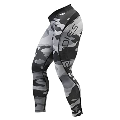 5a20a0c2fe4ab Better Bodies Camo Long Tights at Amazon Women's Clothing store:
