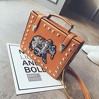 klxeb Riveter Holding Box Sac Sac à main Cross Body Bag
