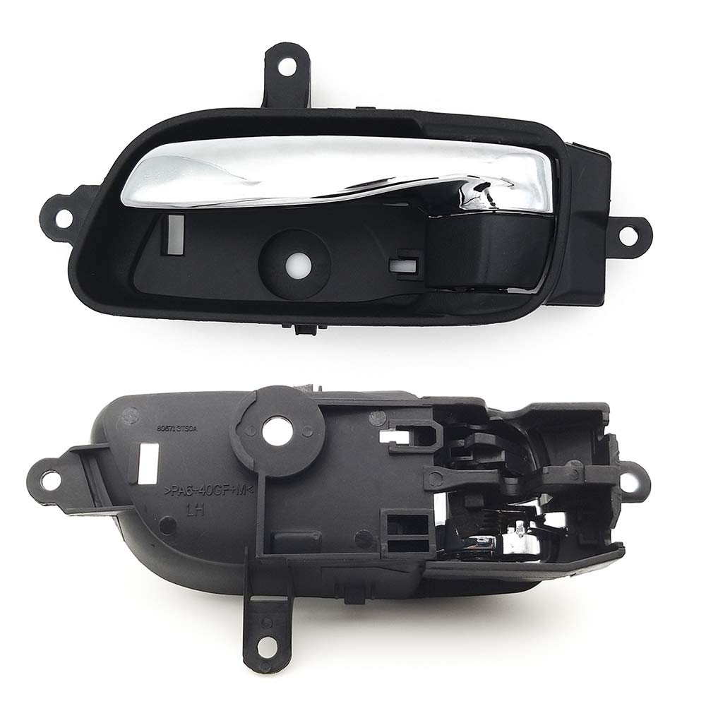 2015 Armada 2015 2017 Titan /& 2016-2017 Titan XD 80671-3TA0D 2015-2017 Murano BOPART Driver Inside Interior Door Handle for Nissan 2013 2014 2015 2016 2017 Altima Pathfinder