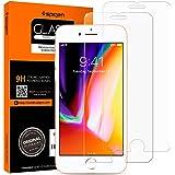 Spigen 2Pezzi Pellicola Vetro Temperato iPhone 8 / 7, HD (0.33mm Premium Ver.) proteggischermo trasparente, Pellicola Prottetiva iPhone 8 / 7, protezione per schermo (042GL20800)