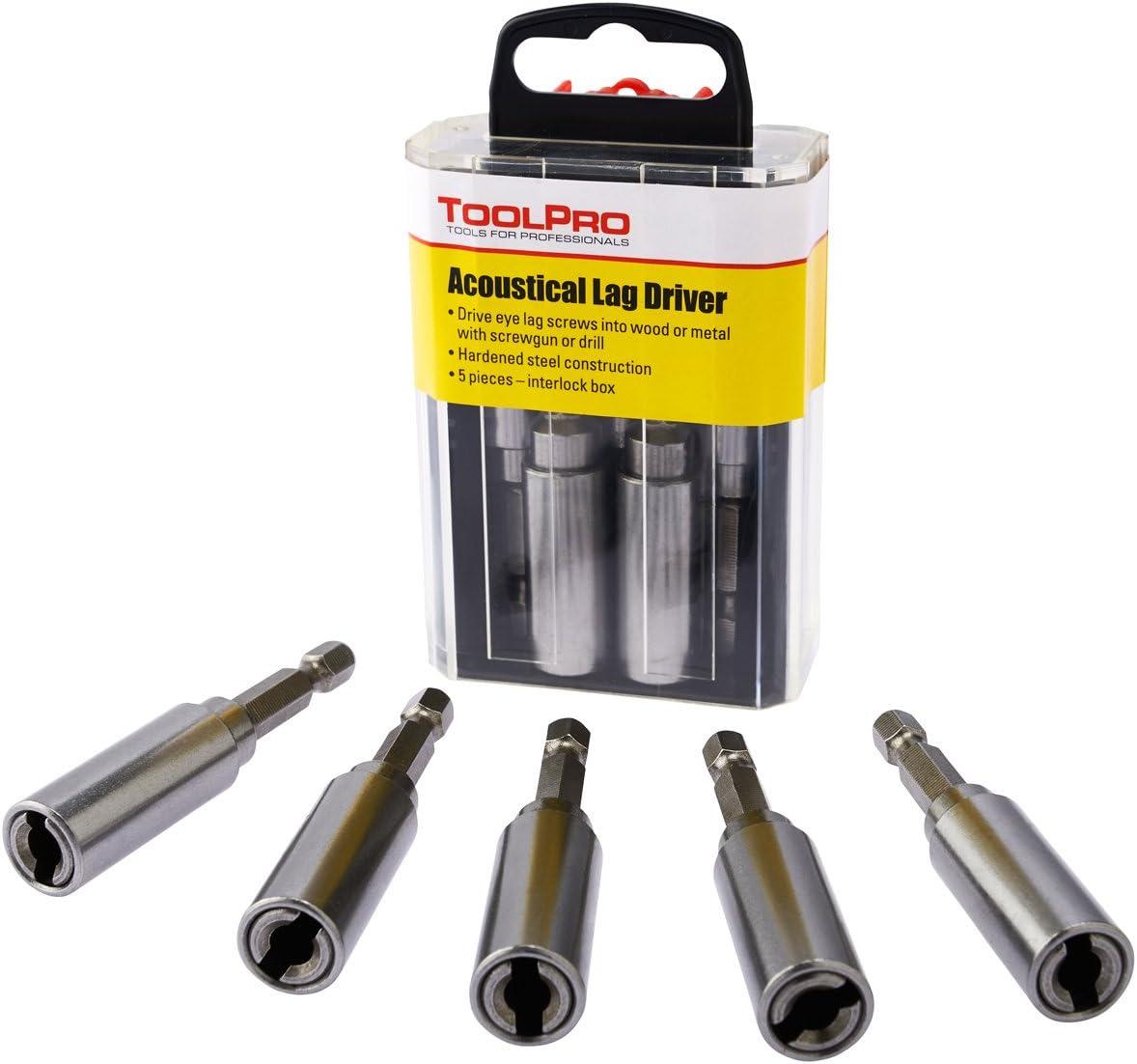 ToolPro Eye Lag Driver in Interlocking Storage Box 5 Pack