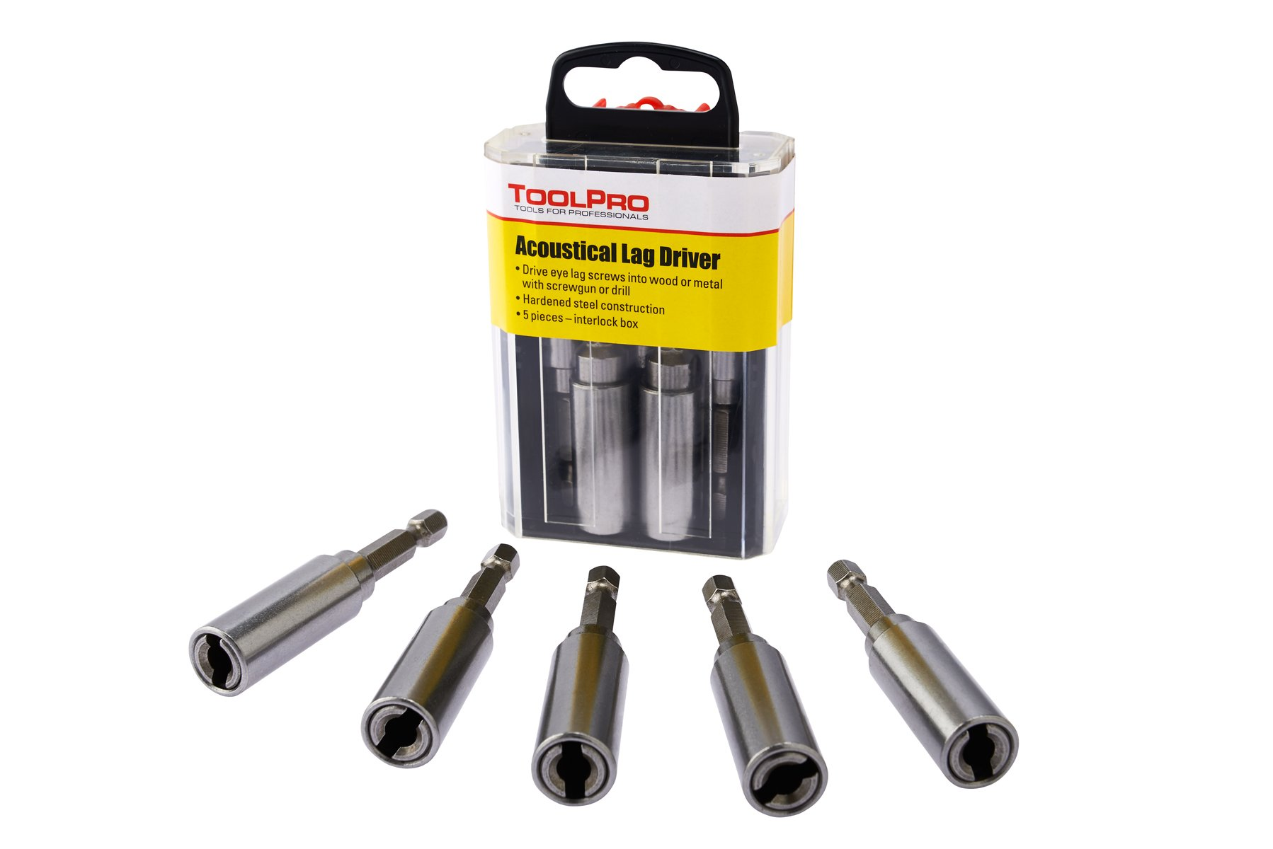 ToolPro Eye Lag Driver (5 Pack) in Interlocking Storage Box