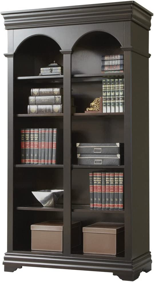 Martin Furniture Beaumont Double Open Bookcase – Fully Assembled