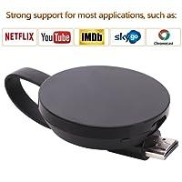 ATETION Wireless Wifi Display Dongle TV Empfänger Adapter 1080P Full HD Unterstützung Chromecast für Miracast Airplay DLNA TV Stick für Android/Mac / IOS