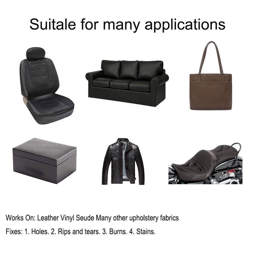 Amazon.com: Parche de reparación de cuero de gran tamaño ...