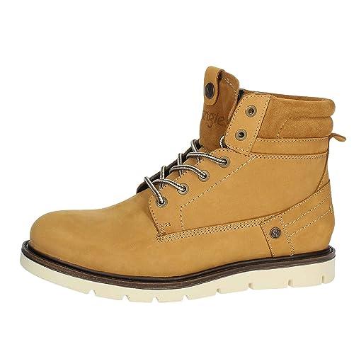 Wrangler Tucson WM182010 Amarillo Botines Hombre Calzado Cómodo - Amarillo, 42 EU: Amazon.es: Zapatos y complementos