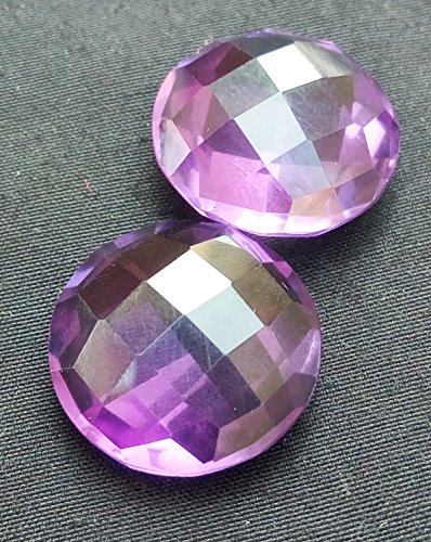 24.10CTs. Natural Amethyst Round Shape AAA Quality 16x16 mm Faceted Gemstone