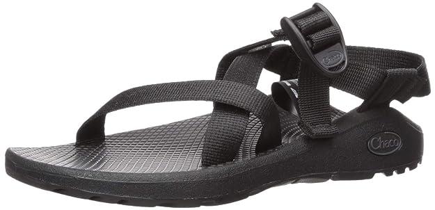 Chaco Women's Zcloud Sport Sandal, Solid Black, 10 M US